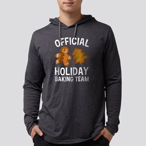 Official Holiday Baking Team Long Sleeve T-Shirt