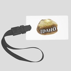 baked potato Idaho Large Luggage Tag