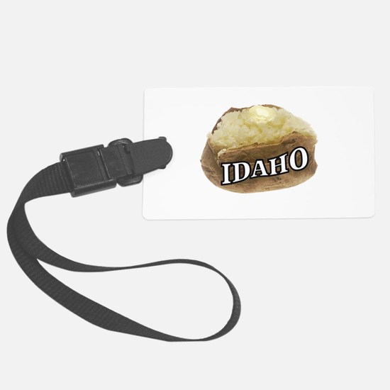 baked potato Idaho Luggage Tag