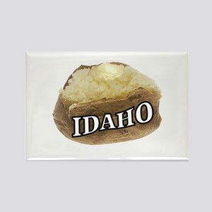 baked potato Idaho Magnets