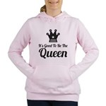 Chess Mom Women's Hooded Sweatshirt