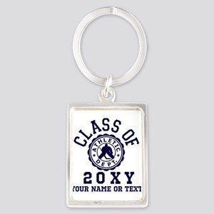 Class of 20?? Hockey Portrait Keychain