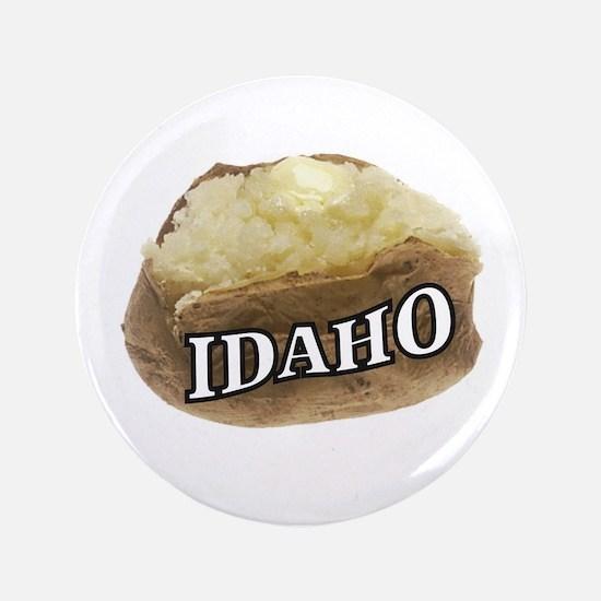 "baked potato Idaho 3.5"" Button (100 pack)"