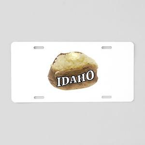 baked potato Idaho Aluminum License Plate