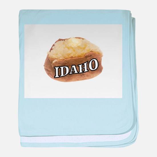 baked potato Idaho baby blanket
