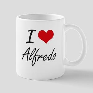 I Love Alfredo Mugs
