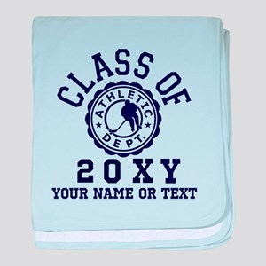 Class of 20?? Hockey baby blanket