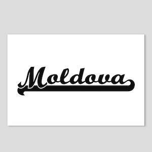 Moldova Classic Retro Des Postcards (Package of 8)