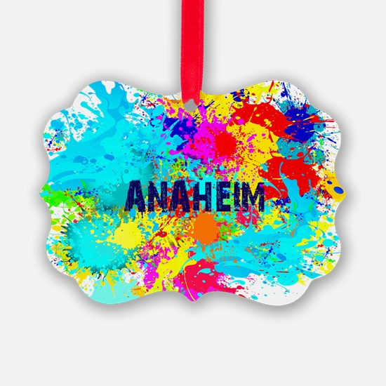 Anaheim Burst Ornament