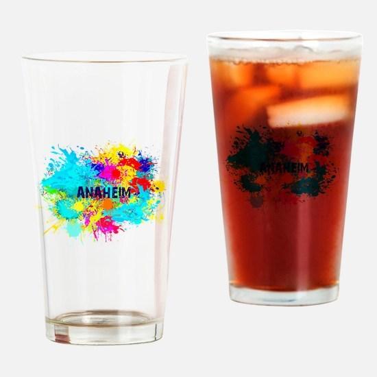 Anaheim Burst Drinking Glass