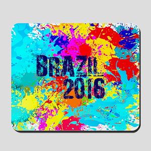 Brazil 2016 Burst Mousepad