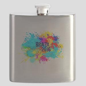 Brazil 2016 Burst Flask