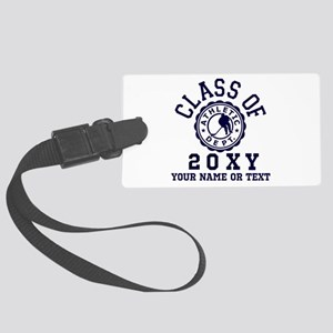 Class of 20?? Hockey Large Luggage Tag