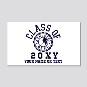 Class of 20?? Hockey 20x12 Wall Decal