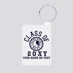 Class of 20?? Hockey Aluminum Photo Keychain