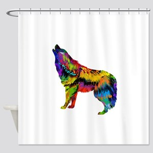 HOWL Shower Curtain