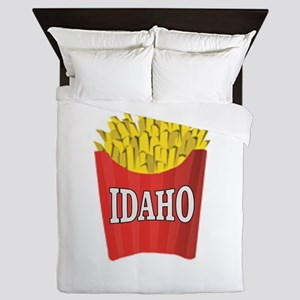 Idaho fries Queen Duvet