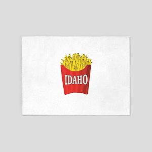 Idaho fries 5'x7'Area Rug
