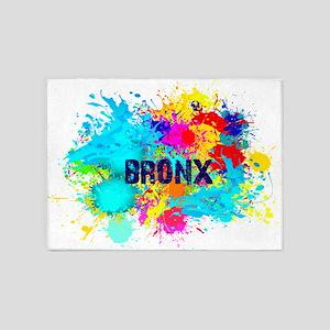 BRONX BURST 5'x7'Area Rug