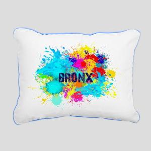 BRONX BURST Rectangular Canvas Pillow