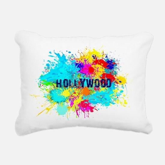 HOLLYWOOD BURST Rectangular Canvas Pillow