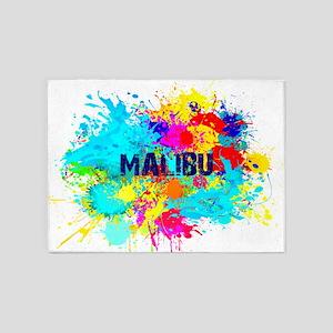 MALIBU BURST 5'x7'Area Rug