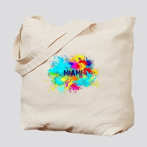 MIAMI BURST Tote Bag