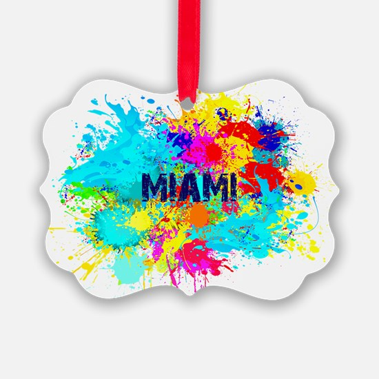 MIAMI BURST Ornament