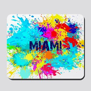 MIAMI BURST Mousepad