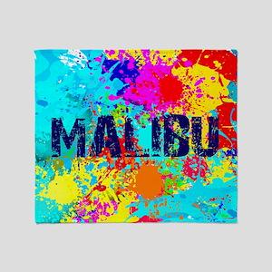 MALIBU BURST Throw Blanket