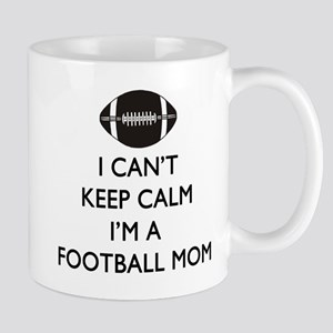 Keep Calm Football Mom Mugs