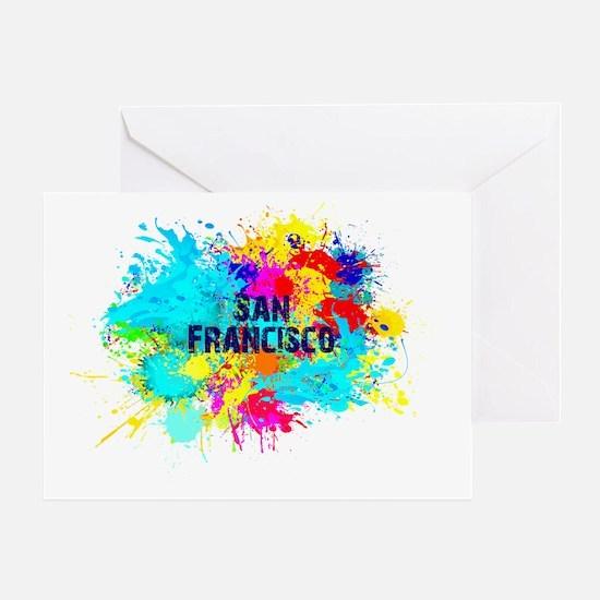 SAN FRANCISCO BURST Greeting Card