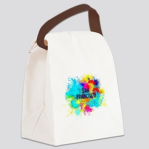 SAN FRANCISCO BURST Canvas Lunch Bag