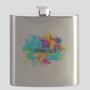 SAN FRANCISCO BURST Flask