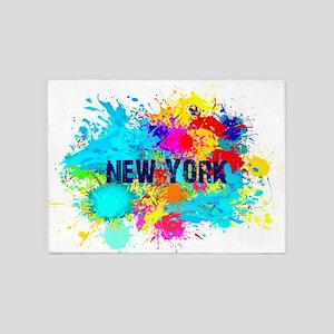 NEW YORK BURST 5'x7'Area Rug