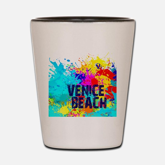 VENICE BEACH BURST Shot Glass