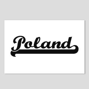Poland Classic Retro Desi Postcards (Package of 8)