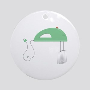 Electric Mixer Round Ornament