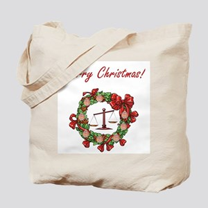 Attorney Merry Christmas Tote Bag
