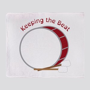 Keeping The Beat Throw Blanket