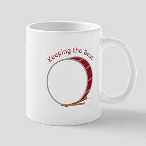 Keeping The Beat Mugs