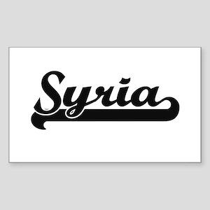 Syria Classic Retro Design Sticker