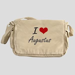 I Love Augustus Messenger Bag