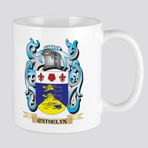 Cathelyn Coat of Arms - Family Crest Mugs