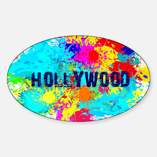 HOLLYWOOD BURST Decal