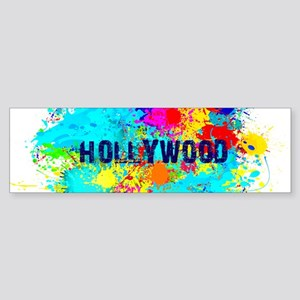 HOLLYWOOD BURST Bumper Sticker