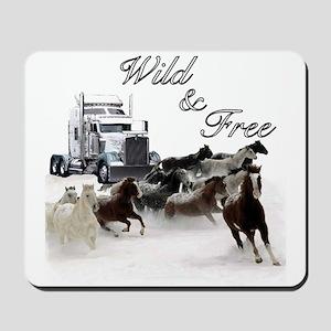 Wild & Free Mousepad