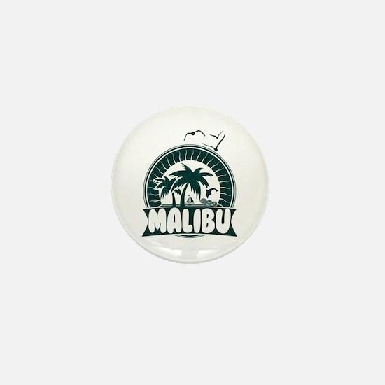 Malibu California Mini Button