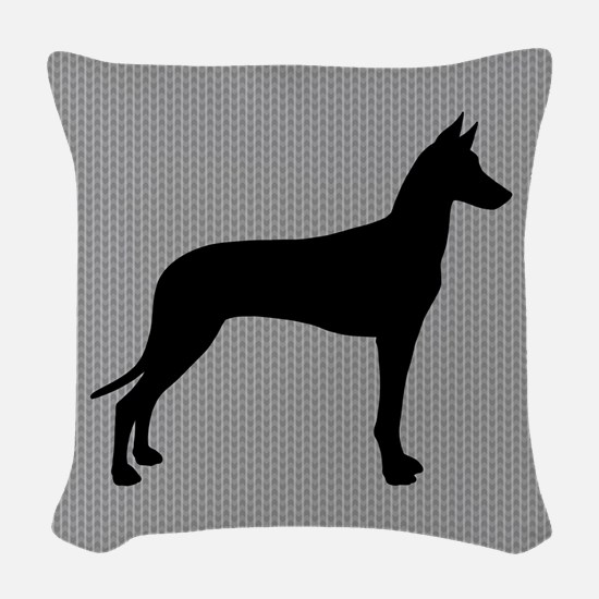Pharaoh Hound Woven Throw Pillow
