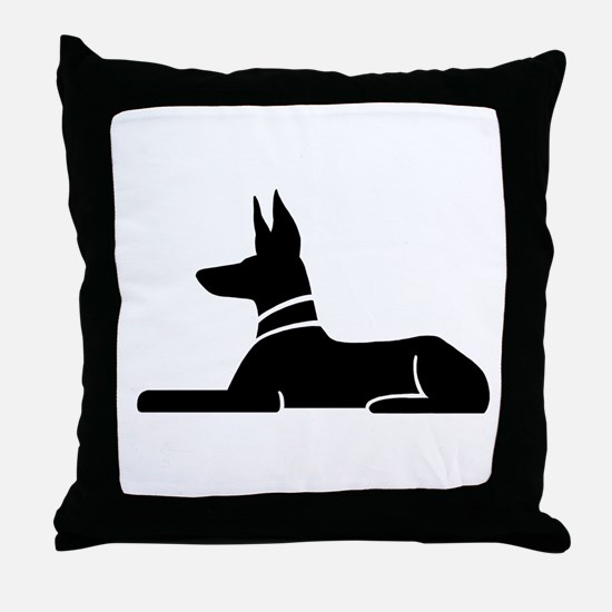 Pharaoh Hound Throw Pillow